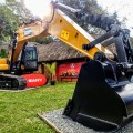 The SY210 excavator is an ideal machine for smaller clients needing flexibility and maximum efficiency in their equipment.jpg